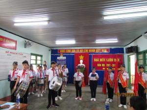 Đội nghi thức làm lễ chào cờ