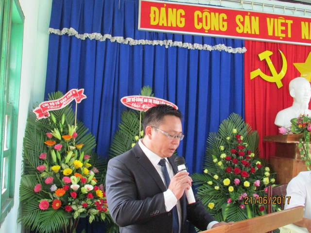 Đại hội Đảng viên nhiệm kì: 2017 – 2020