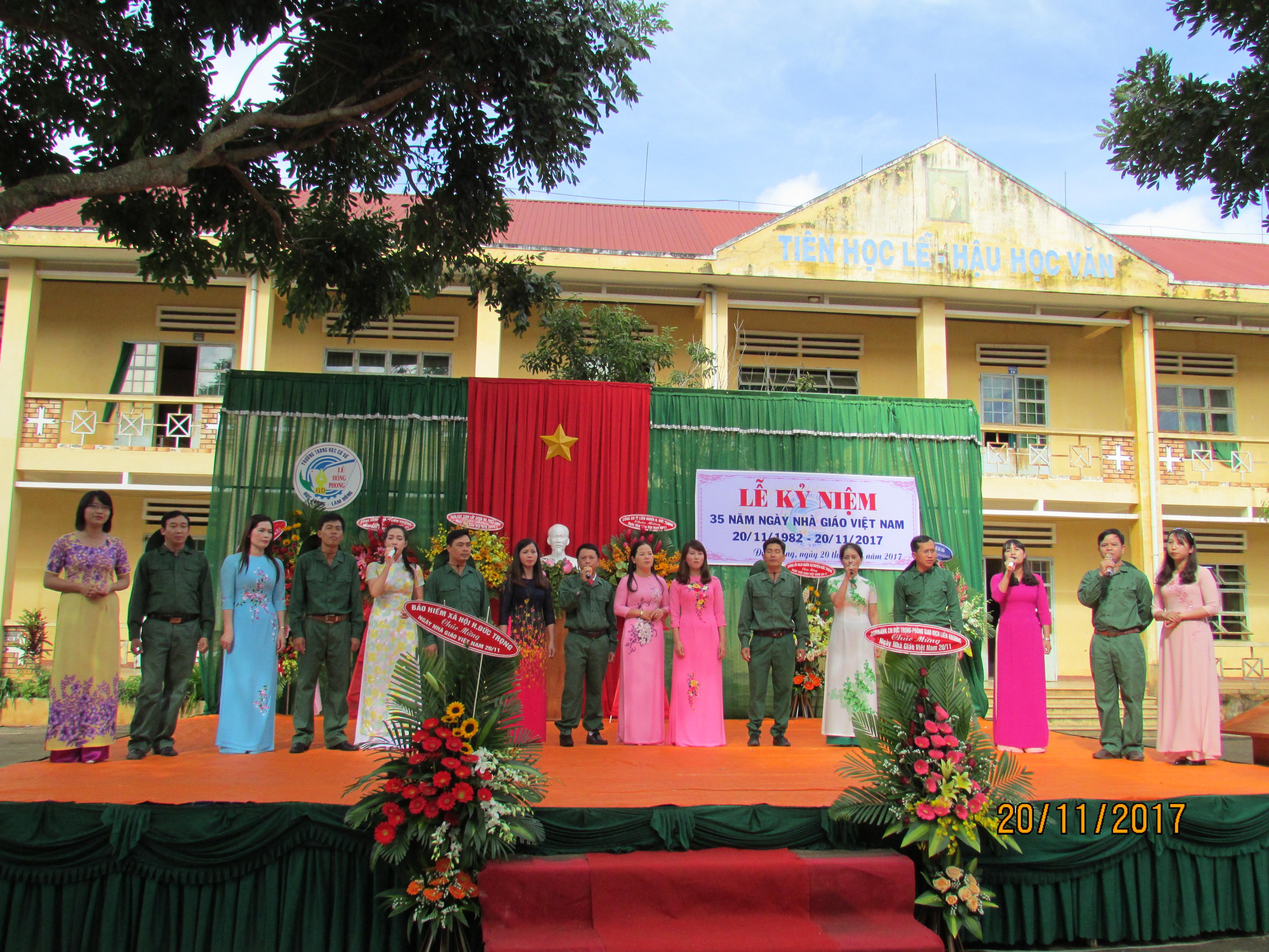 Lễ kỷ niệm ngày nhà giáo Việt Nam 20-11