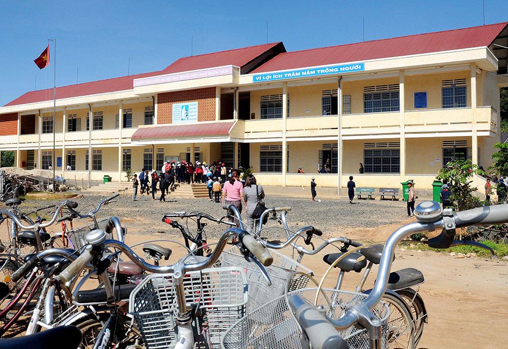 Giáo dục Ðức Trọng với hành trình xây dựng huyện nông thôn mới