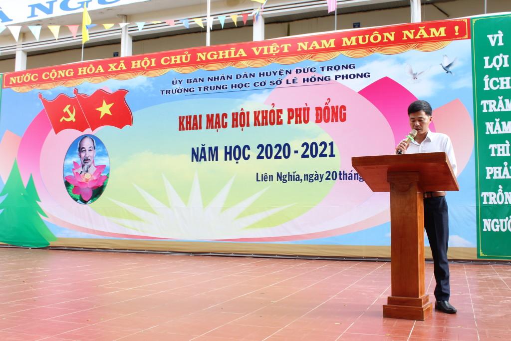 Thầy Nguyễn Văn Vây tổ chức